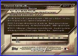 2016 Bowman Chrome Prospects FERNANDO TATIS JR. #BCP17 1st Bowman RC PADRES 1B