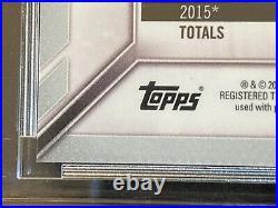 2016 Fernando Tatis Jr Bowman Chrome Gold Refractor RC. #35/50 Padres