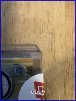 2019 Bowman Chrome Fernando Tatis Jr. Gold Refractor Patch Auto #50/50 Padres