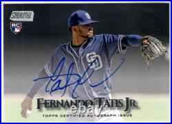 2019 Stadium Club Autographs #SCAFTA Fernando Tatis Jr. RC Auto SD Padres