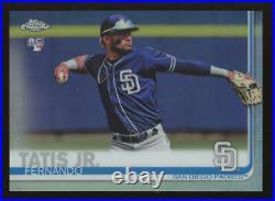 2019 Topps Chrome Refractor #203 Fernando Tatis Jr. Rookie RC San Diego Padres