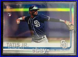 2019 Topps Fernando Tatis Jr. Rainbow Foil Rookie Card RC #410 Padres