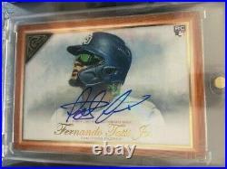 2019 Topps Gallery Fernando Tatis Jr Orange ROOKIE RC Autograph AUTO /25 Padres