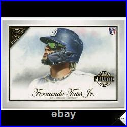 2019 Topps Gallery Fernando Tatis Jr. RC Private Issue #56 (Padres) #/250