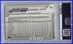 2020 Fernando Tatis Jr Topps Chrome VARIATION REFRACTOR SP #84 Padres PSA 10 GEM