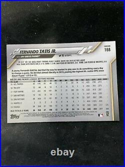 2020 Topps Chrome Sapphire Edition Fernando Tatis Jr. #168 San Diego Padres