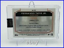 2020 Topps Dynasty Fernando Tatis Jr. Dynasty Auto Patch 7/10 Invest Padres
