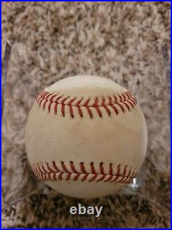 2021 Fernando Tatis JR SINGLE Game Used Baseball San Diego Padres MLB Auth