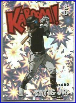 2021 Panini Absolute Fernando Tatis Jr Kaboom! Case Hit Ssp San Diego Padres #k5