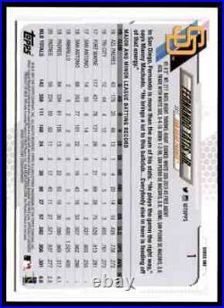 2021 Topps Series 1 Fernando Tatis Jr. SSP Variation #1 PADRES