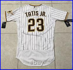 AUTHENTIC Fernando Tatis Jr. San Diego Padres Jersey, Pinstripe Size M, SOLD OUT
