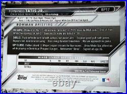 FERNANDO TATIS JR 2016 Bowman 1st Rookie Card RC Padres HR Power & Speed $ HOT $