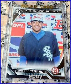 FERNANDO TATIS JR 2016 Bowman Rookie Card RC Padres HR Power & Speed $$ HOT $$