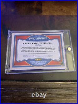 FERNANDO TATIS JR 2019 Leather & Lumber Rookie RC Auto Autograph /99 Padres