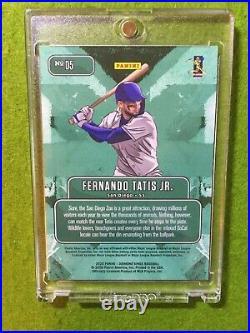 FERNANDO TATIS JR DOWNTOWN PRIZM CARD PADRES SP CASE HIT 2020 Diamond Kings SSP