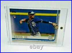 FERNANDO TATIS JR. RC 2019 TOPPS Series 2 RC #410 PADRES Rookie Card + ONE TOUCH