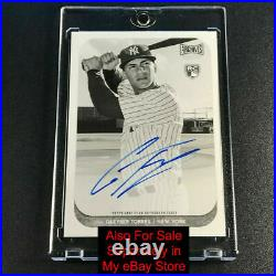 Fernando Tatis 2019 Panini Immaculate Emerald Patch Auto Rookie Rc /5 Padres