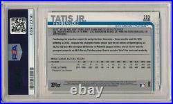 Fernando Tatis Jr 2019 Topps Chrome #203 Rc Rookie Card Padres Psa 10 Gem Mint