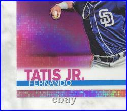 Fernando Tatis Jr. 2019 Topps Chrome Pink Refractor RC SSP Rookie Padres