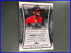 Fernando Tatis Jr. 2020 Leaf Metal Draft Auto Autograph San Diego Padres