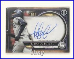 Fernando Tatis Jr. 2020 Topps Tribute Auto #/50 San Diego Padres Autograph SSP