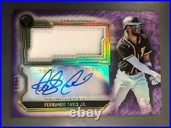 Fernando Tatis Jr. 2020 Topps Triple Threads Auto Autograph Jersey #6/75 Padres