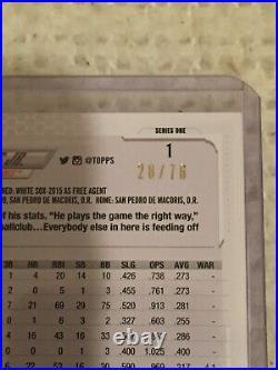 Fernando Tatis Jr. 2021 Topps Series 1 Independence Day 28/76 Padres Rare Card