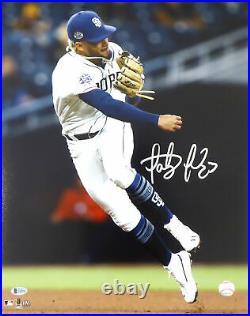 Fernando Tatis Jr. Autographed Signed 16x20 Photo Padres Beckett 181121