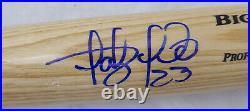 Fernando Tatis Jr. Autographed Signed Blonde Rawlings Bat Padres Beckett 179067
