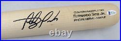 Fernando Tatis Jr. Autographed Victus Game Model Bat Padres Beckett 189447