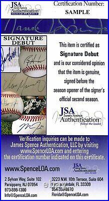 Fernando Tatis Jr. Luis Urias Padres Autographed 8x10 Photo USA SM / JSA Auth