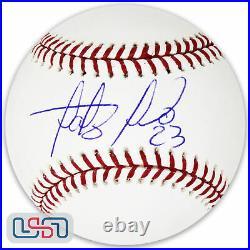 Fernando Tatis Jr. Padres Signed Autographed Major League Baseball JSA Auth