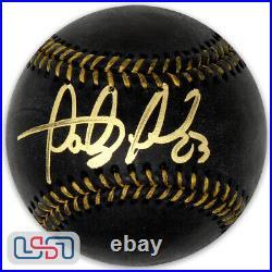 Fernando Tatis Jr. Padres Signed Black Major League Baseball JSA Auth