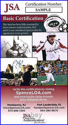 Fernando Tatis Jr. Padres Signed MLB Debut 2019 Opening Day Baseball JSA Auth