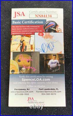 Fernando Tatis Jr Padres Signed Rawlings Pro Baseball BAT Mint Autograph JSA COA