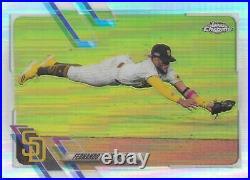 Fernando Tatis Jr. San Diego Padres 2021 Topps Chrome Photo Variation Refractor