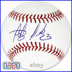 Fernando Tatis Jr. Signed OML BaseballJSA Auth. Sig. DebutSan Diego Padres