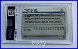 Fernando Tatis Jr Topps Chrome PSA 10 MLB Rookie Card RC Diego Padres Gem Mint 2