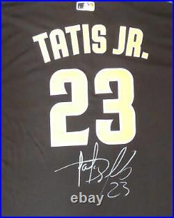 Padres Fernando Tatis Jr. Autographed Authentic Nike Jersey 48 Beckett 181102